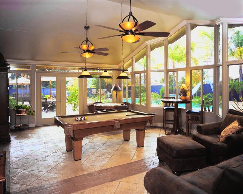 Interior Gable Sunroom. Create A Room Addition ...
